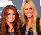 Miley Cyrus mit Mutter Leticia Tish Cyrus