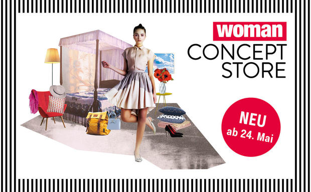 Schau vobei im WOMAN Pop-Up Concept Store!