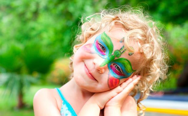 Der Hit Auf Jeder Kinderparty So Einfach Geht Kinderschminken
