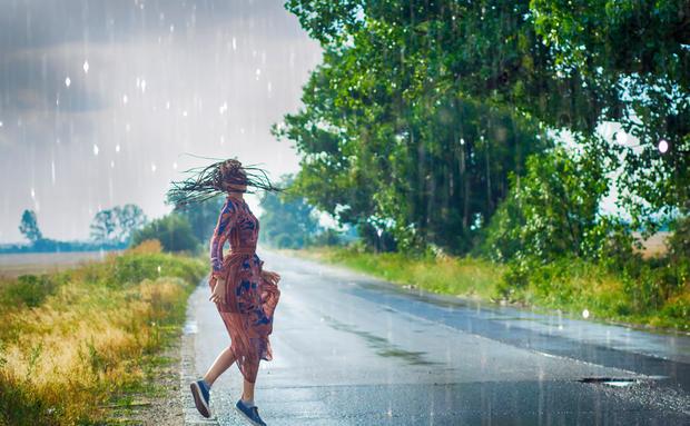 Sommerregen Geruch