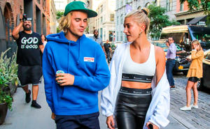 Justin Bieber und Hailey Baldwin in New York Brooklin