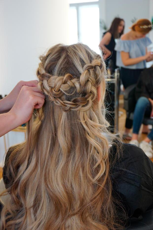 Frisuren mit offenen haaren