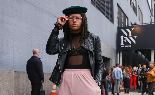 Hauptsache L Ssig Die Street Styles Der New York Fashion Week