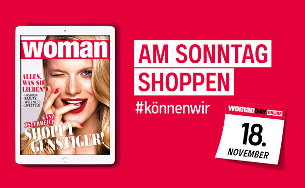 Save the Date: WOMAN DAY ONLINE am 18. November!