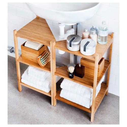 Kleines Badezimmer? Mit diesen Ikea-Hacks wirkt es größer ...