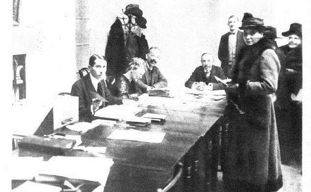 Vor 100 Jahren wählten Frauen in Österreich das 1. Mal ...