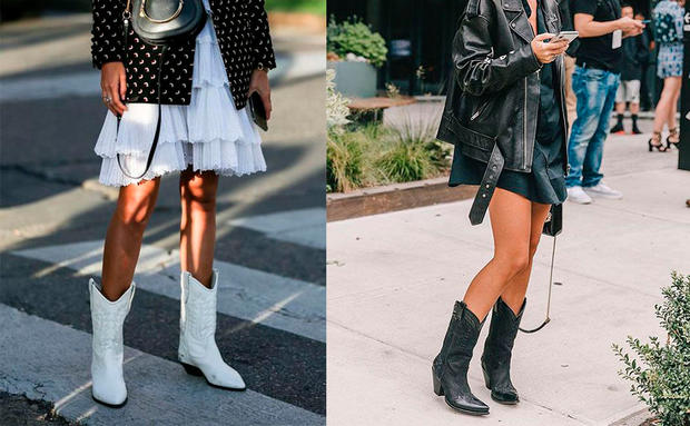 innovative design fd072 e17ff Herbsttrend: Wir tragen heuer wieder Cowboystiefel! • WOMAN.AT