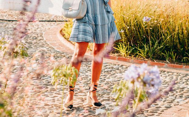 new concept 0d546 c76df Die perfekten Sommerschuhe: Sandaletten mit Keilabsatz ...