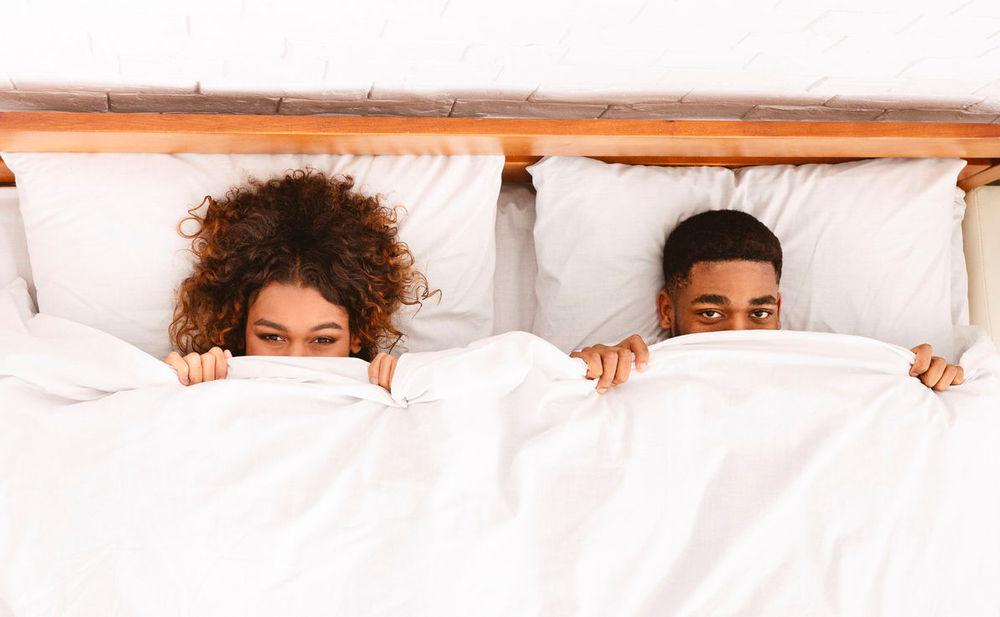 Schüchtern Im Bett