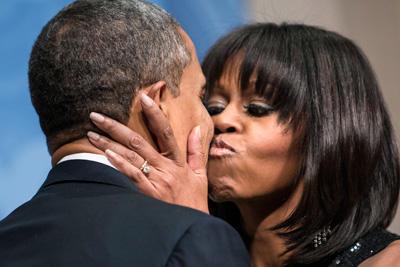 Michelle Obama Neue Frisur Woman At