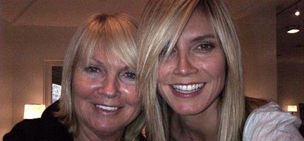 Heidi Klum Zeigt Ihre Schöne Mama Womanat