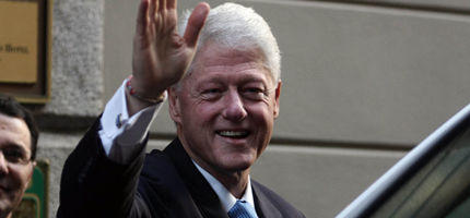 "Bill Clinton machte ""Abstecher"" ins Leopold-Museum"