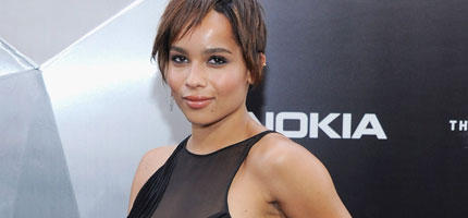 Hot! Zoe Kravitz in angesagtem Netz-Dress
