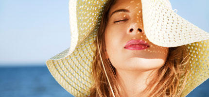 Wasserfestes Sommer-Make-up
