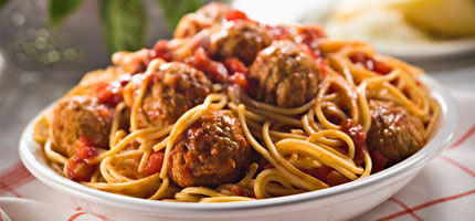 rezept pasta fleischb llchen woman at. Black Bedroom Furniture Sets. Home Design Ideas