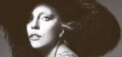 Lady Gaga als Vogue-Model