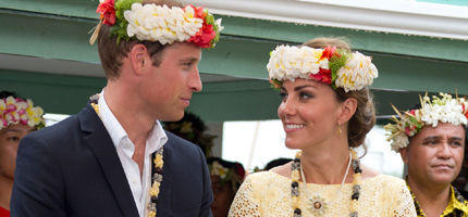 William und Kate beenden Asien-Pazifik-Tour