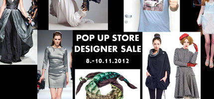 Pop Up Store Designer Sale