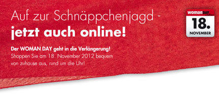 Sonntag: WOMAN Day Online