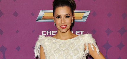 Eva Longoria als Brautjungfer