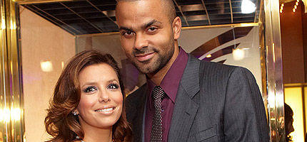"""Desperate Housewife""-Star Eva Longoria war mit Ehemann Tony Parker in Wien"