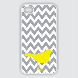 iPhone-Hülle mit Chevron-Muster
