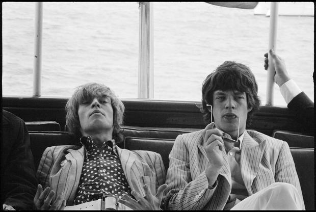 Brian Jones und Mick Jagger, New York 1966
