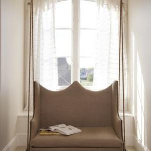 schaukeln f r 39 s eigenheim woman at. Black Bedroom Furniture Sets. Home Design Ideas