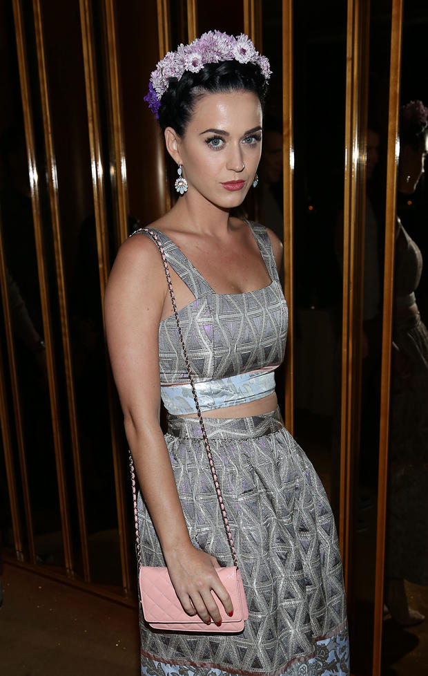 Katy Perry im Frida Kahlo-Look bei der After Party zu The Great Gatsby