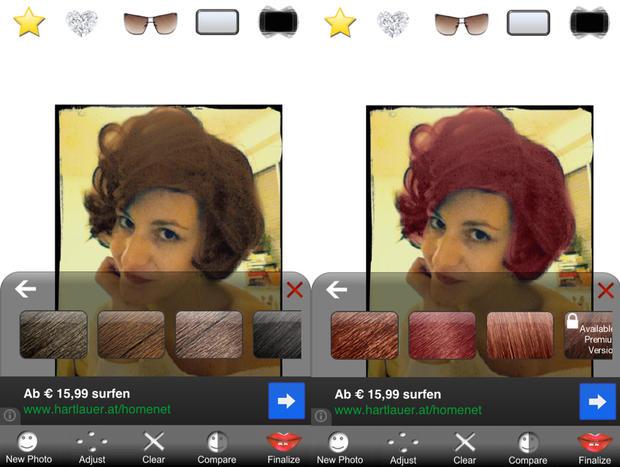Testen foto kostenlos haarfarben Frisuren Testen