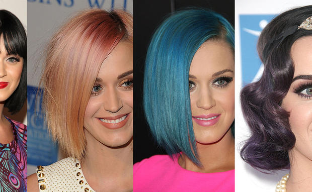 Katy Perry Zeigt 4 Neue Varianten Der Bob Frisur Woman At