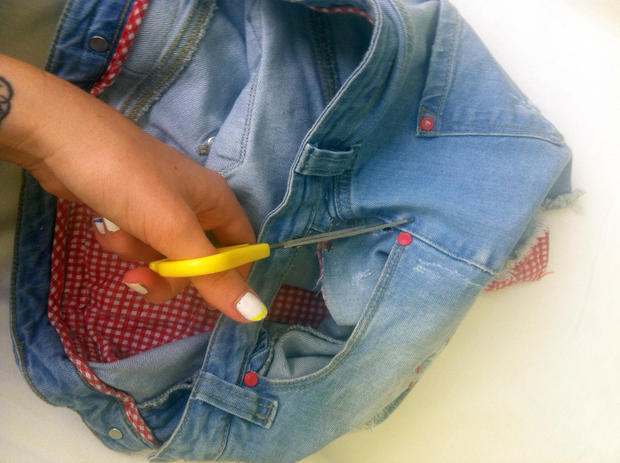 Jeans ohne was drunter