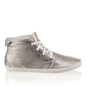 Schuhe In Silber Woman At