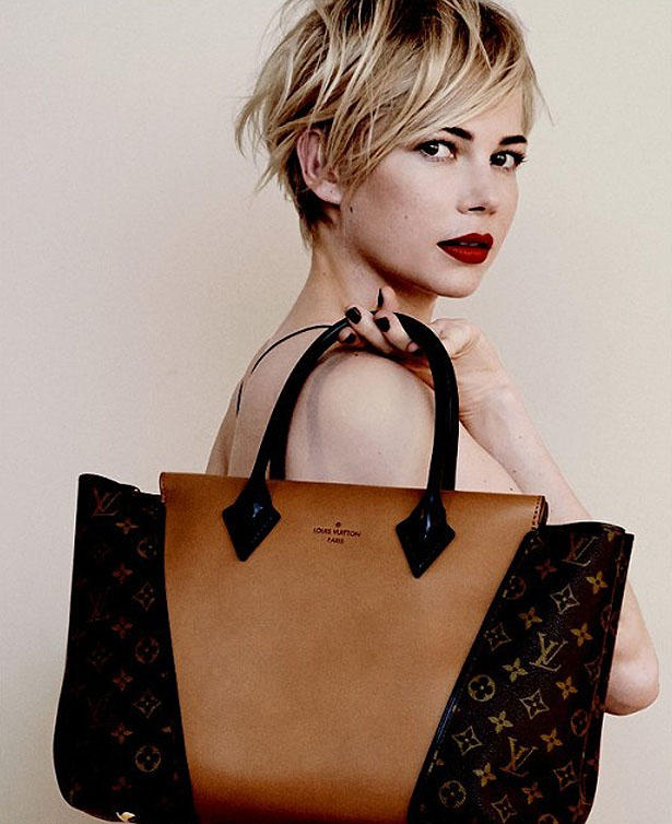 Louis Vuitton Kampagne mit Michelle Williams