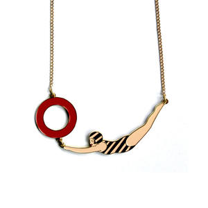 SWIMMER NECKLACE