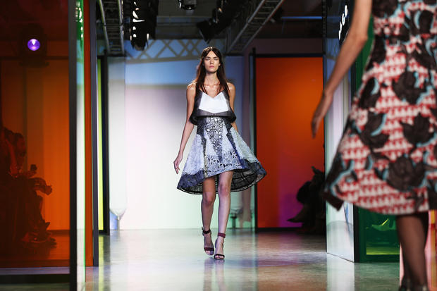 Peter Pilotto auf der London Fashion Week