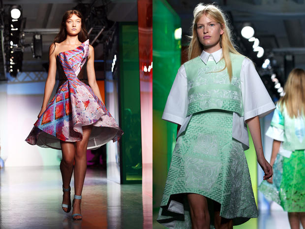 Peter Pilotto auf der London Fashion Week 2013
