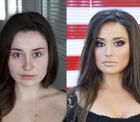 Kein Photoshop - nur Make-up!