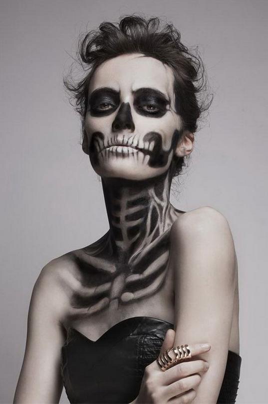 Halloween 21 make up ideen woman at - Halloween schminkideen ...