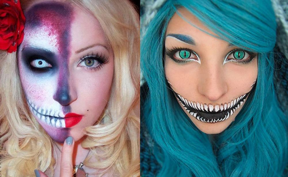 Halloween 21 Make Up Ideen Woman At
