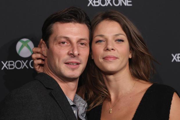 Jessica Schwarz with attractive, Boyfriend Markus Selikovsky