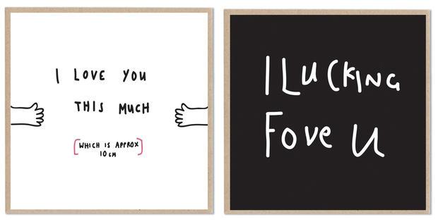 Valentinskarten Einmal Anders