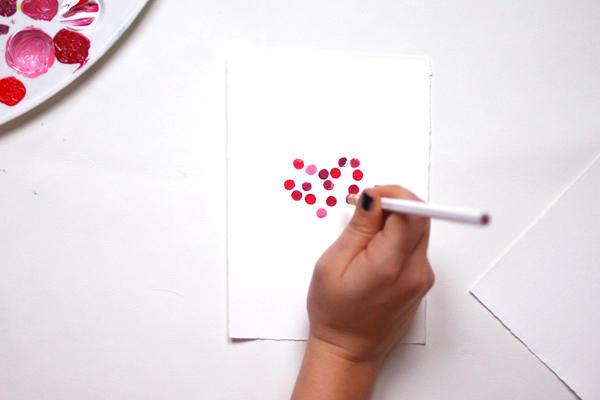 DIY: Valentinstagskarten