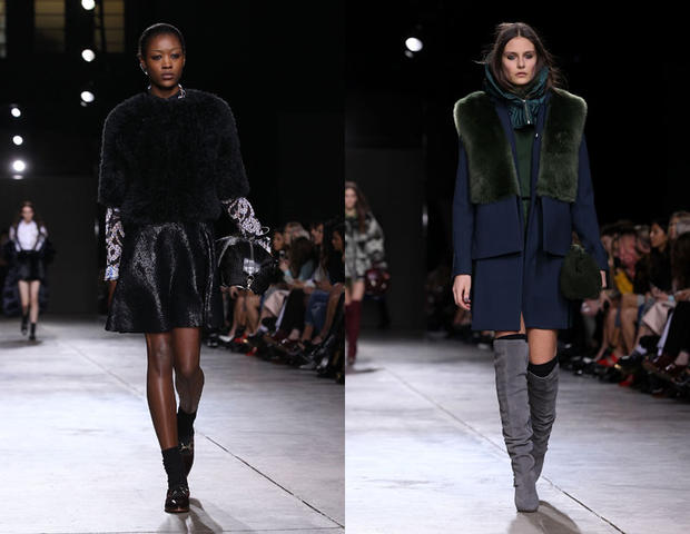 Topshop Unique Herbst/Winter 2014/15