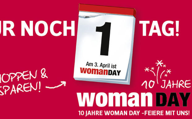 Morgen ist WOMAN DAY!