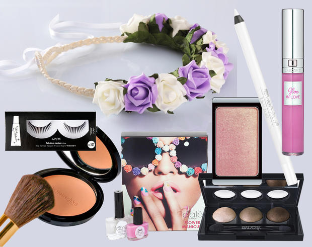 Flower Power Make Up Anleitung Womanat