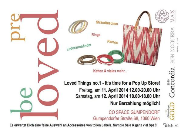 Loved Things Flyer