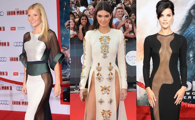 finest selection e9871 ec2bb Kendall Jenner und Co: Ohne Unterhosen am Red Carpet • WOMAN.AT
