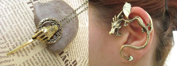 Schmuck und Mode a la Game of Thrones