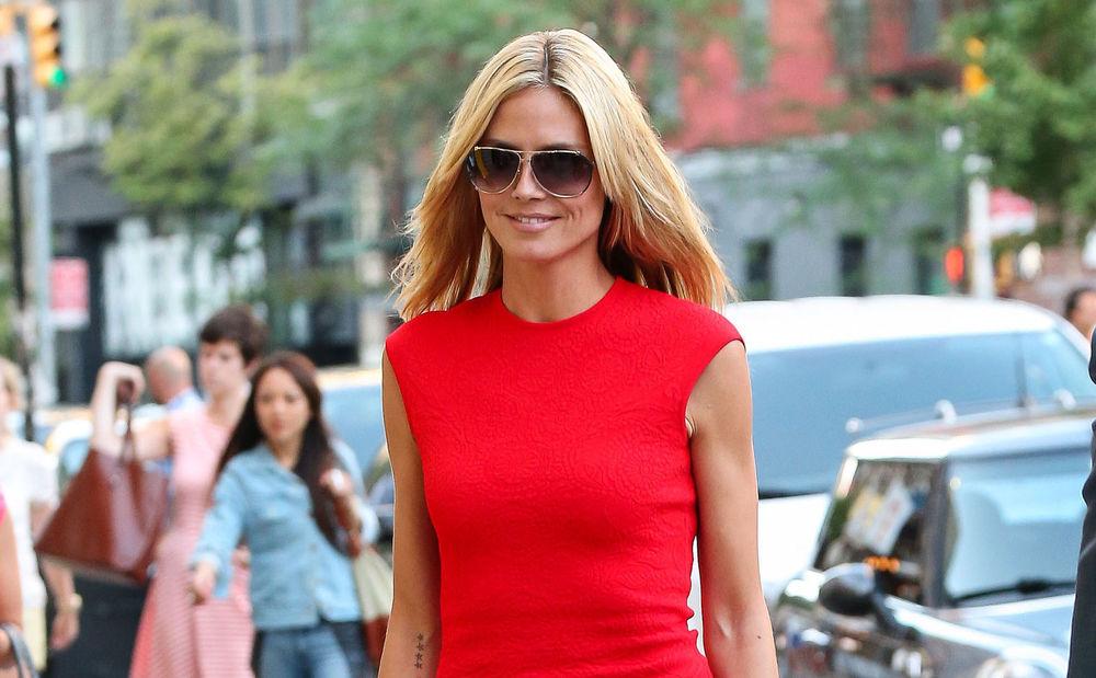 Shop the Look: Heidi Klum • WOMAN.AT